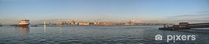 Nálepka Pixerstick Liverpool nábřeží - Panoramatický - Situace v podnikání
