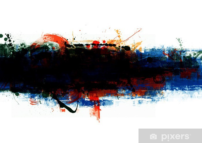 Papier peint vinyle Bannière - Art et création