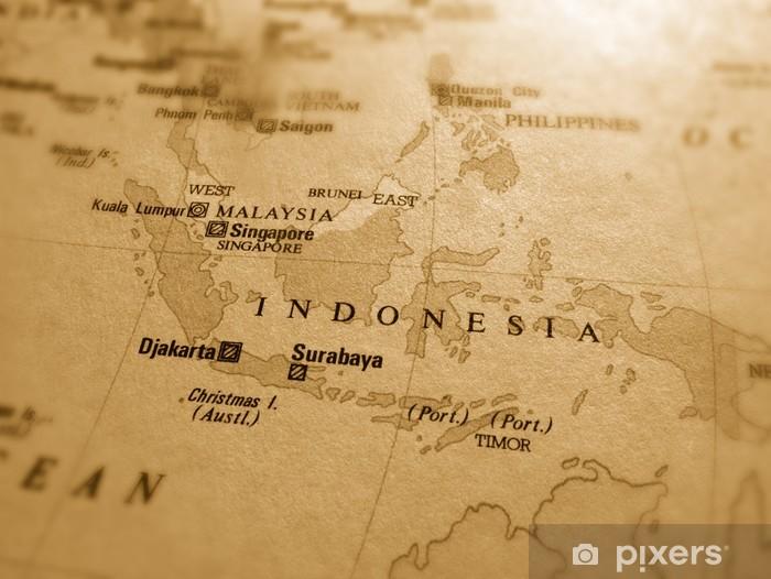 Vinyl Fotobehang Indonesia - Azië