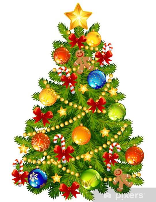 Fototapeta Vánoční stromeček • Pixers® • Žijeme pro změnu
