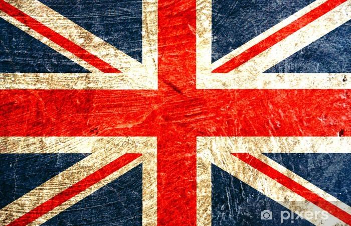 drapeau anglais Vinyl Wall Mural -
