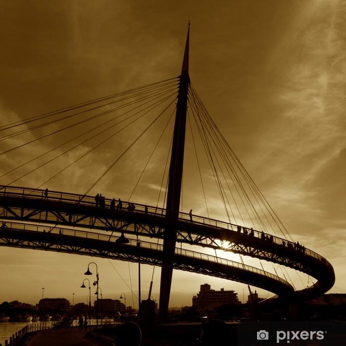 Fototapeta winylowa Most Pescara - Infrastruktura