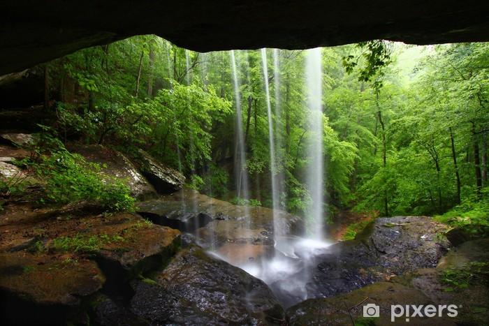 Naklejka Pixerstick Wodospad w północnej Alabamie - Tematy