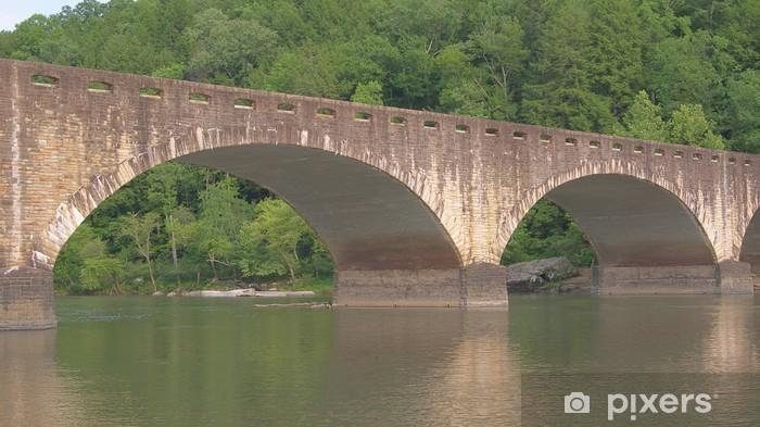 Vinyl-Fototapete Edward M. Gatliff Memorial Bridge - Amerika