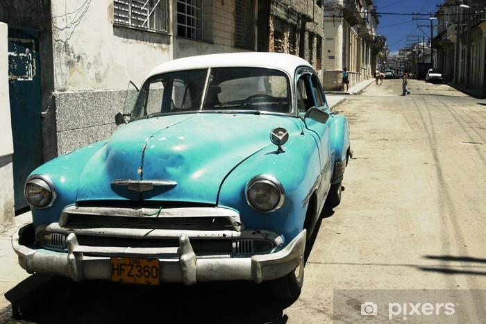 Fotomural Estándar Havana street cross process - Temas