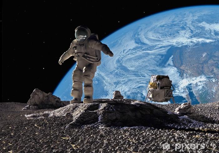Fototapeta winylowa Astronauci - Przestrzeń kosmiczna