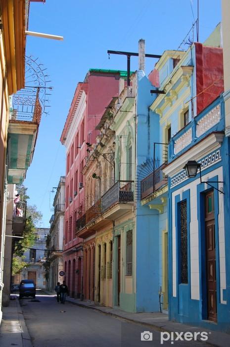 Fotomural Estándar Antigua calle de La Habana - América