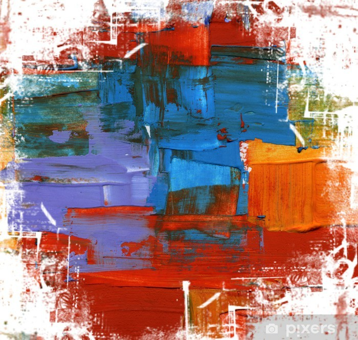 Abstract art backgrounds. Vinyl Wall Mural - Themes