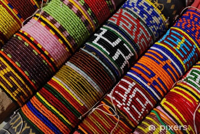 Naklejka Pixerstick Bransoletki z plemienia tak bardzo razem, Panama - Ameryka