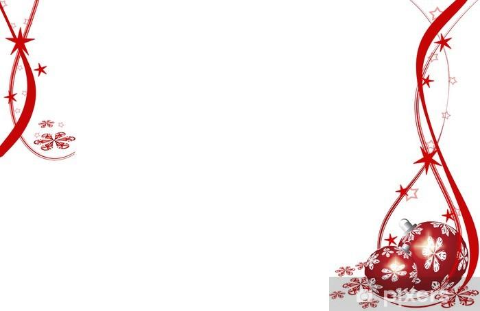 Sticker Pixerstick Noël, Weihnachtskugel, pourriture - Fêtes internationales