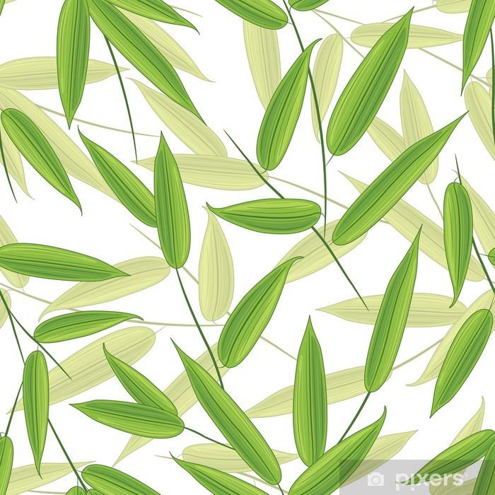 Naklejka Pixerstick Bambus w liście - Tematy