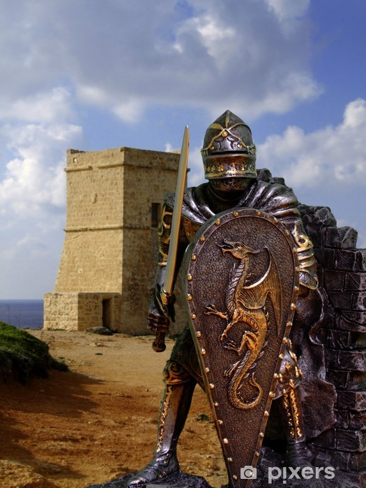 Fototapeta samoprzylepna Rycerze Zbroja - Rycerze