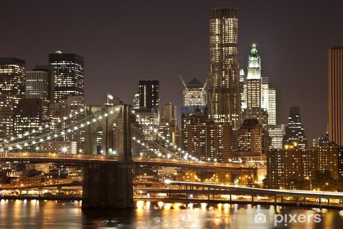 Mural de Parede em Vinil Brooklyn Bridge -