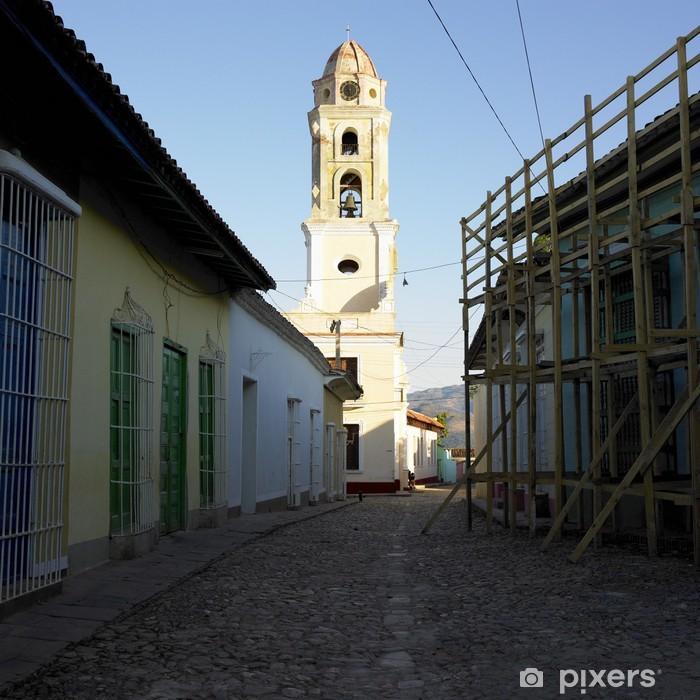 Vinylová fototapeta Museo Nacional de la Lucha Contra Bandidos, Trinidad, Kuba - Vinylová fototapeta