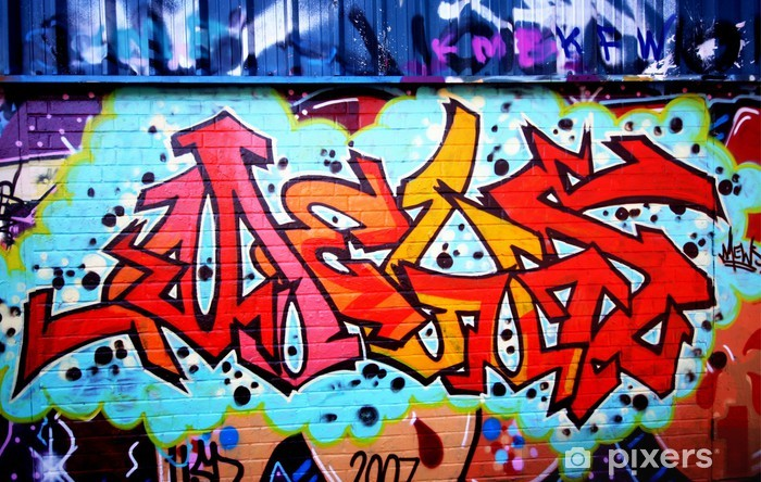 Sticker Pixerstick Graffitis urbains - Thèmes