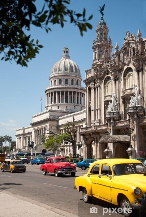 Fototapeta winylowa Havana Capitolio, Kuba - Kuba