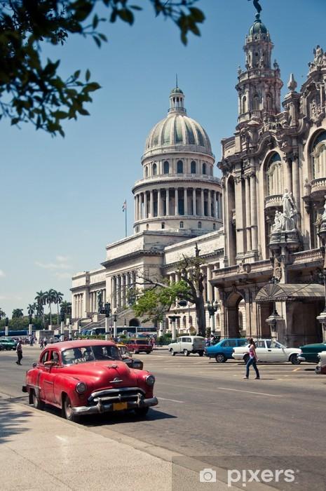 Naklejka Pixerstick Havana Capitolio, Kuba - Kuba