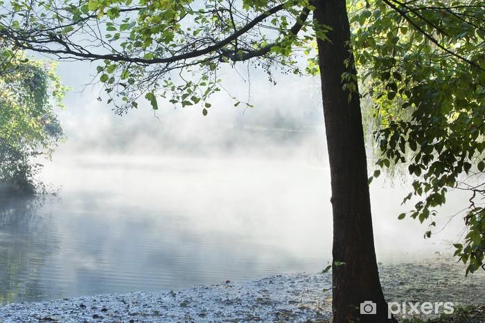 Naklejka Pixerstick Jezioro w Miskolc - Woda
