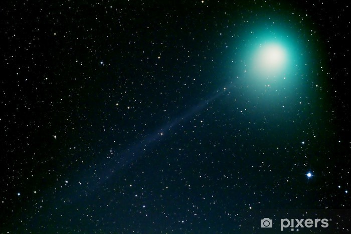 Sticker Pixerstick マ ッ ク ホ ル ツ 彗星 - Espace
