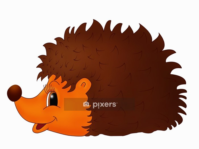 Hedgehog for children Wall Decal - Wall decals