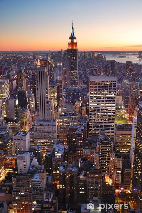 Fototapeta winylowa New York City Manhattan Empire State Building -