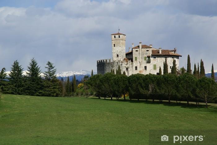 Fototapeta winylowa Castello di Villalta 1 - Wakacje