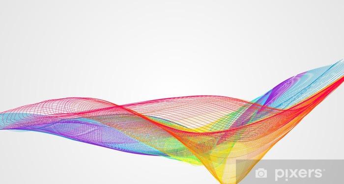 Pixerstick Aufkleber Abstract Vector Background - Zeichen und Symbole