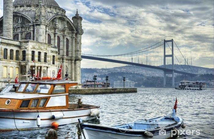 Vinilo Pixerstick Donde se unen dos continentes: Estambul - Europa