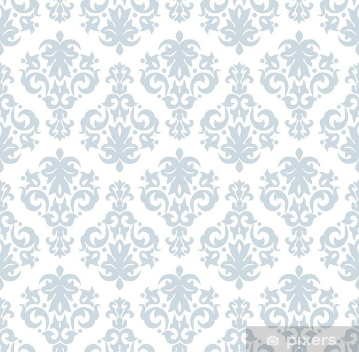 Seamless wallpaper pattern in vintage style Vinyl Wall Mural - Backgrounds