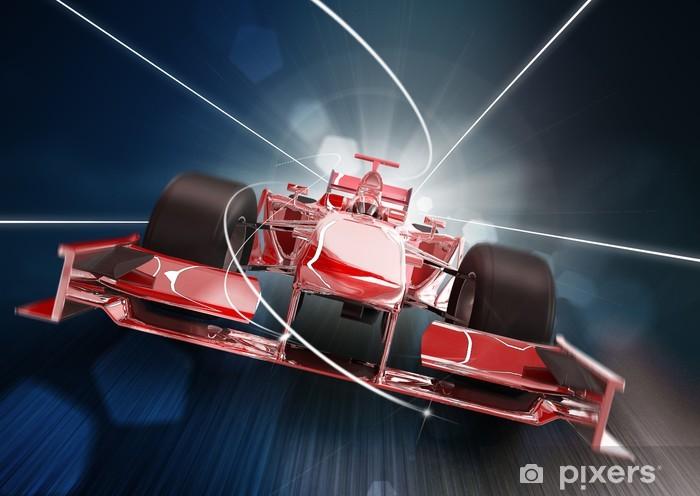 Poduszka dekoracyjna Renderowania 3D, Formula One Concept Car - Tematy