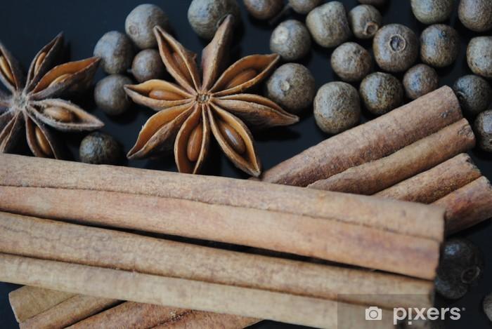 Zelfklevend Fotobehang Kruiden - Kruiden en Specerijen