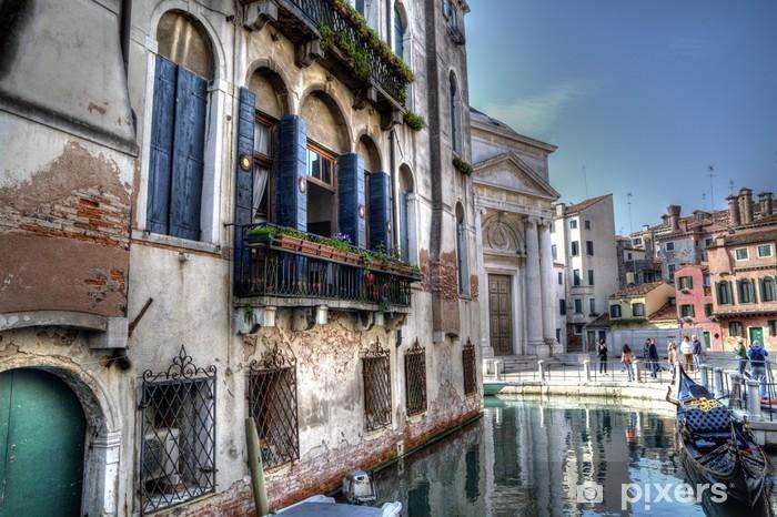 Nálepka Pixerstick Venice - Evropská města