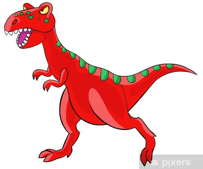 Plakat Dinozaur tyranozaur - Naklejki na ścianę