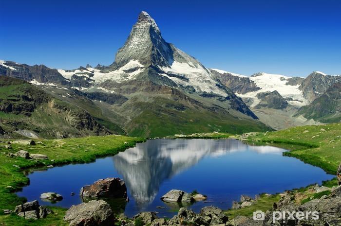 Vinyl Fotobehang Matterhorn - iStaging