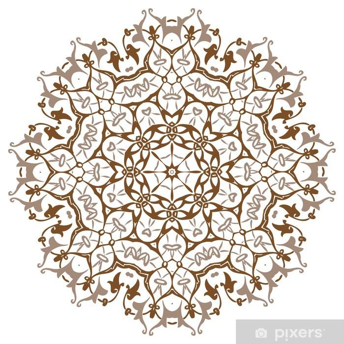 Pixerstick Sticker Mandala Ontwerp - Muursticker