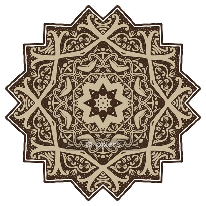 Mandala Design Wall Decal - Wall decals