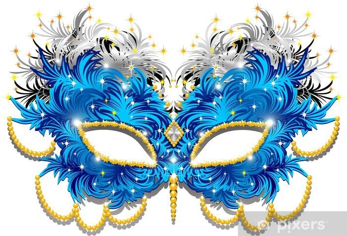 Fototapeta winylowa Carnival Mask Carnival Mask Feather-Feathers-3-Vector - Rozrywka