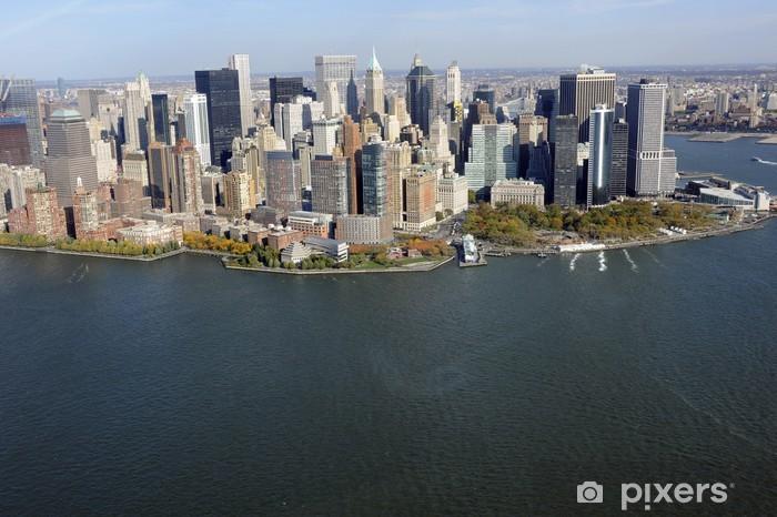 Naklejka Pixerstick Tip of Manhattan: - Miasta amerykańskie
