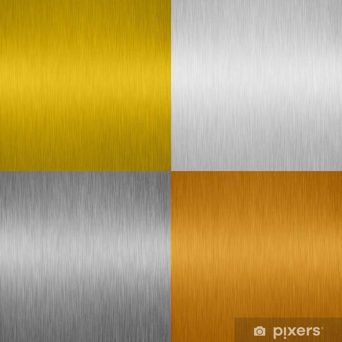 Vinyl-Fototapete Metal texture - Sales