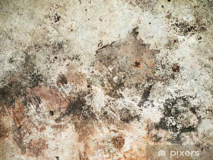 Naklejka Pixerstick Szorstki stare brązowe ściany - Tematy