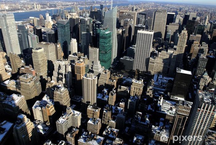 Sticker Pixerstick New York 50 - Paysages urbains