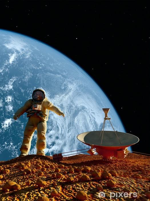 Naklejka Pixerstick Astronauta - Tematy