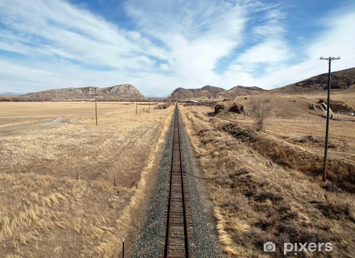Papier peint vinyle Western Rail - Amérique