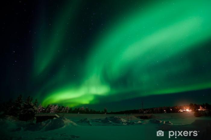Vinilo Pixerstick Aurora Borealis (Northern Lights) - Maravillas de la naturaleza