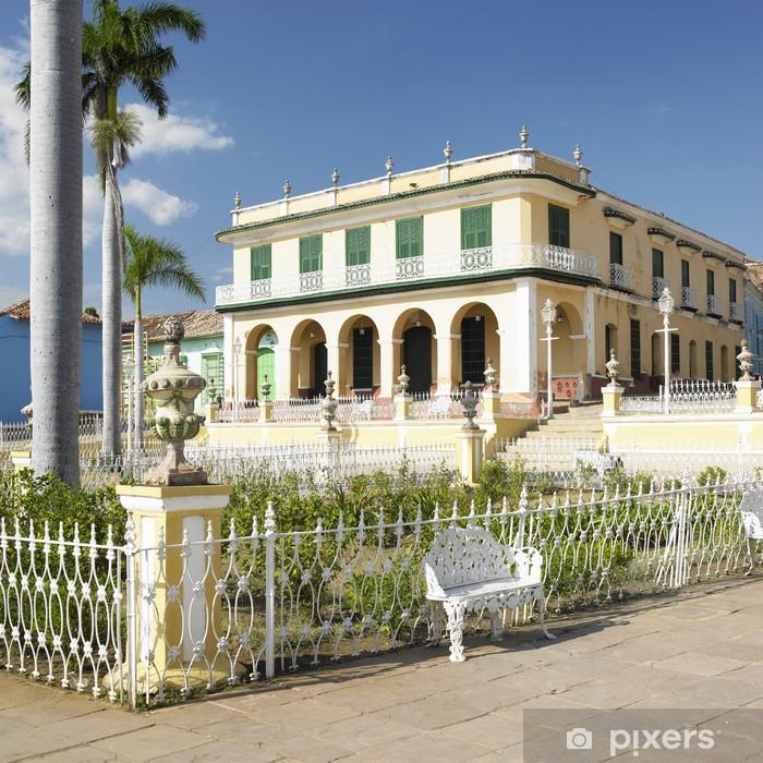 Museo Romantico.Museo Romantico Plaza Mayor Trinidad Cuba Wall Mural Pixers