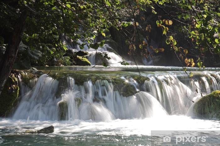 Naklejka Pixerstick Wodospad - Woda