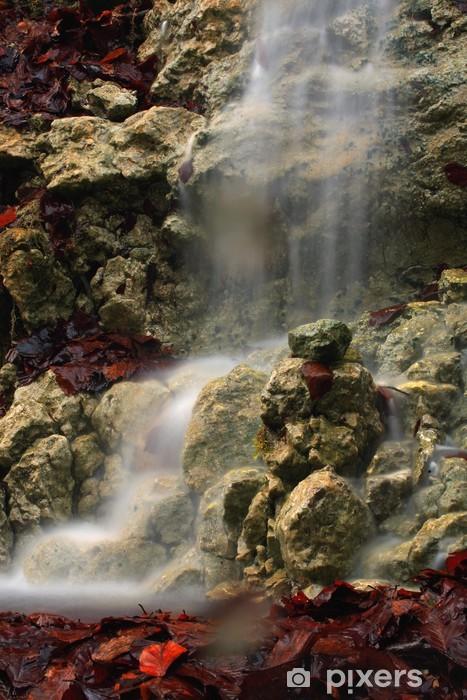 Fototapeta winylowa Jesiennych liści - Pory roku