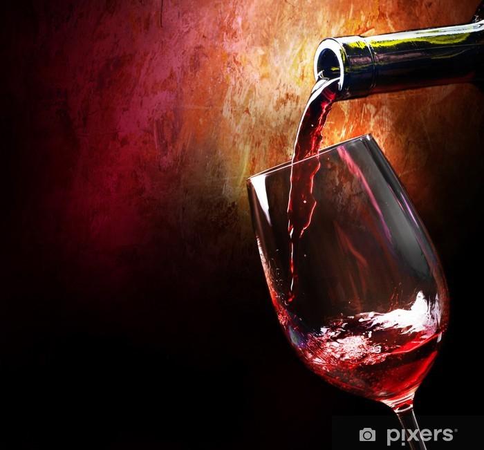 Papier peint vinyle Vin - Vin