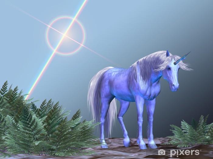 Fototapeta winylowa Unicorn Odpoczynku -