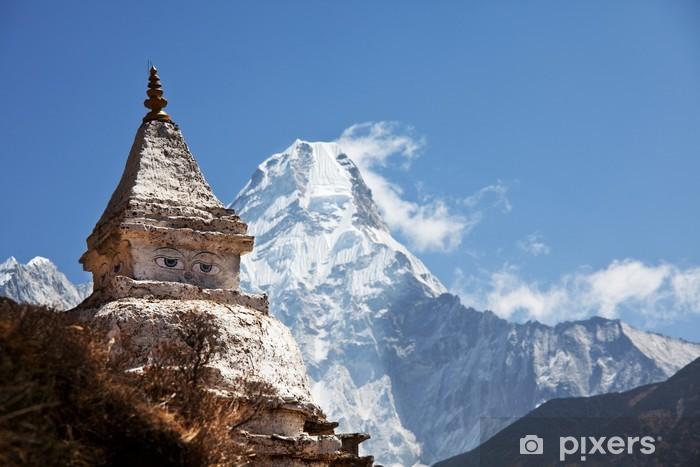 Papier peint vinyle Stupa - Thèmes